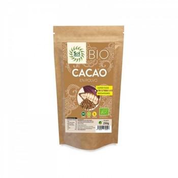 Cacao Polvo Bio 250gr Sol...